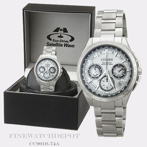 82e7ae2316a Citizen Eco-drive Men s Cc9010-74a Satellite Wave F900 Titanium 44mm Watch  for sale online