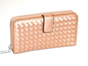 125799534c1 La imagen se está cargando Billetera-cartera-bronce-mujer -portafolio-bolso-monedero-clutch-