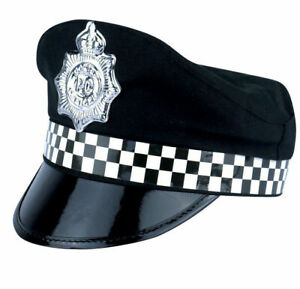 New-Policeman-Cap-Peak-Police-Cop-Hat-For-Adult-Fancy-Dress-Costume-Accessory