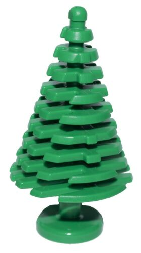 ☀️NEW LEGO LOT OF 25 NEW LARGE GREEN PINE TREES CHRISTMAS TREE PIECES