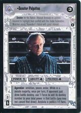 Star Wars CCG Coruscant Rare Senator Palpatine