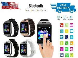 Bluetooth Smart Wrist Watch GSM For Android Samsung Apple iOS iPhone LG GOOGLE