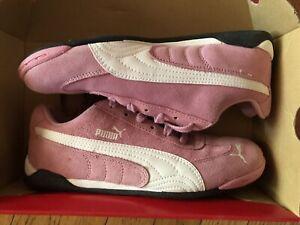 Women-s-PUMA-Light-Flight-S-Jr-Prism-Sneakers-Pink-White-Size-6