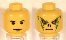 LEGO Harry Potter - Minifig, Head - Quirrell / Voldemort Pattern - Yellow