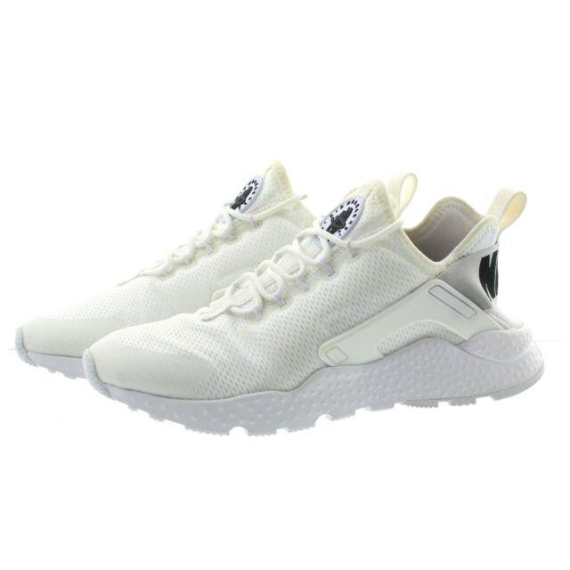 innovative design 844db a5304 Nike Air Huarache Run Ultra Womens 819151-101 White Running Shoes ...