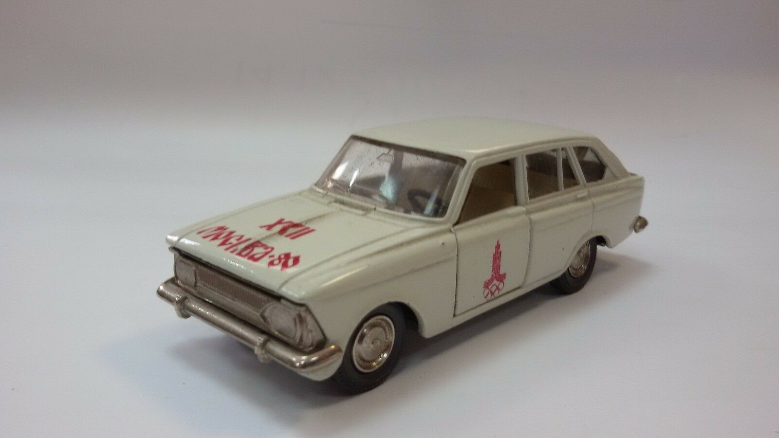 LIMITED EDITION RARE USSR MOSKVITCH IZH 1500 MODEL A12 OLYMPIC GAMES MOSCOW 80's