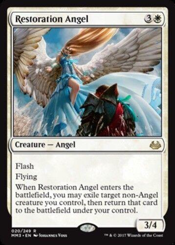 x1 Restoration Angel 1x English -BFG Modern Masters 2017 Edition Near Mint