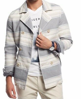 Men's Large Tommy Hilfiger Thunderbird Peacoat Quiet Shade