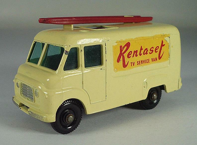 MATCHBOX regular WHEELS n. 47 B TV Service Van rentaset BPW LESNEY 3 #515