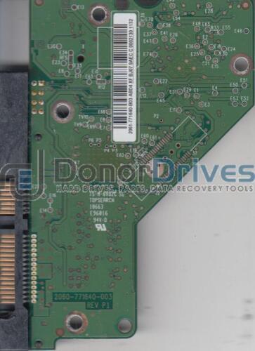 WD10EARS-22Y5B1 WD SATA 3.5 PCB 2061-771640-B03 ABD4