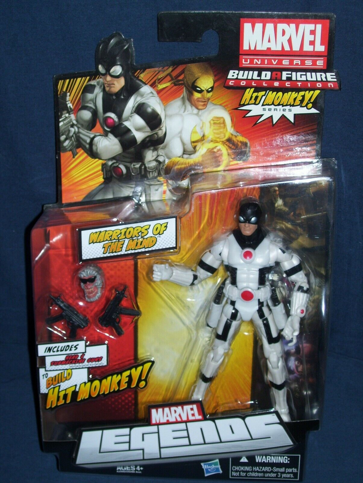 Marvel Legends Warriors of the Mind Hit Monkey Build A Figure Series NIB 2012