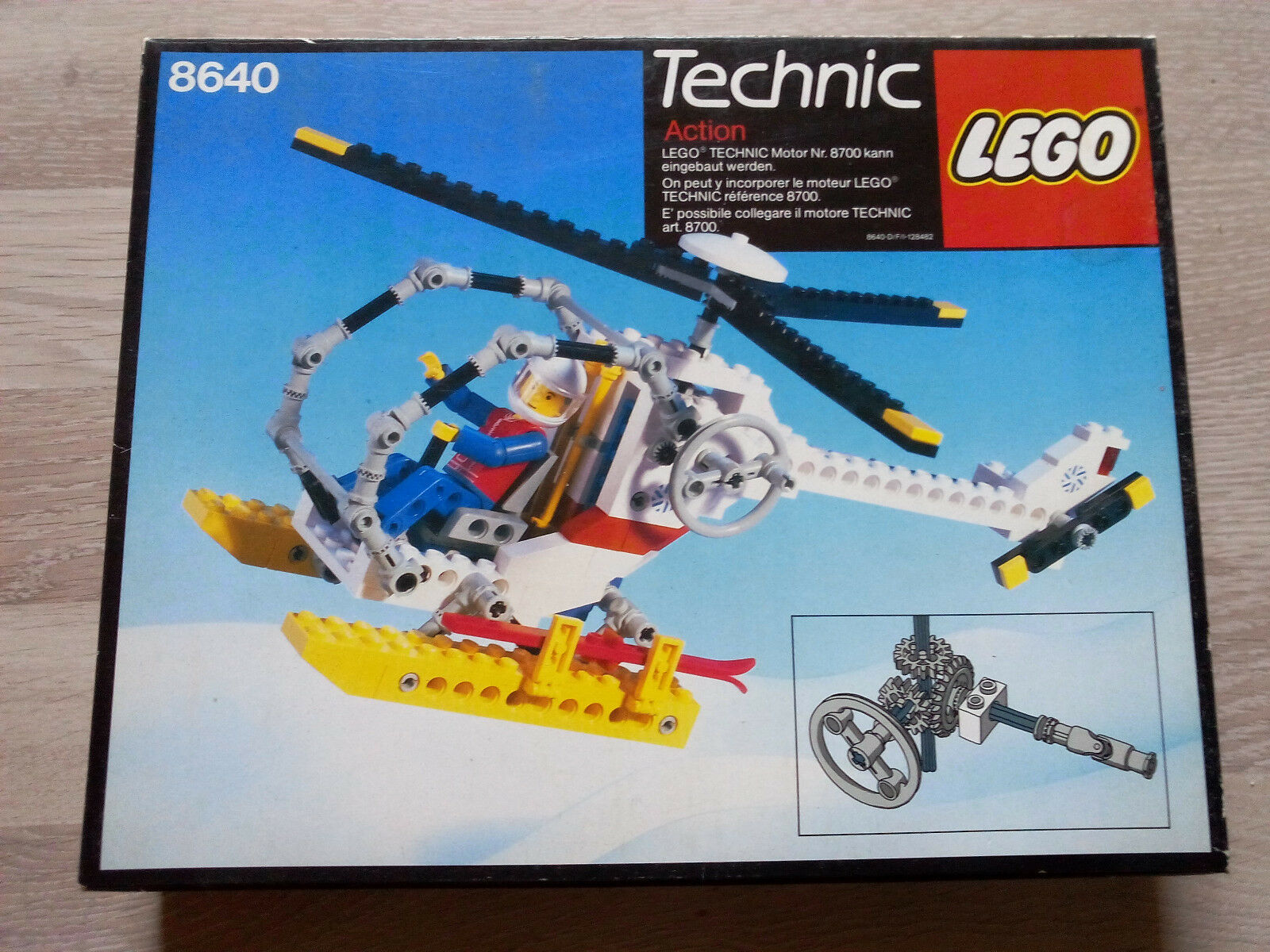 Lego Technic Technik 8640 Polar Helicopter   NEU & OVP - RARITÄT