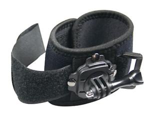MEDIACOM-SPORTCAM-360-ROTATION-Wrist-mount-CINTURINO-DA-POLSO-PER-GO-PRO-NERO