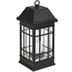 Best Choice Products Smart Hanging Solar Lantern Light LED ...