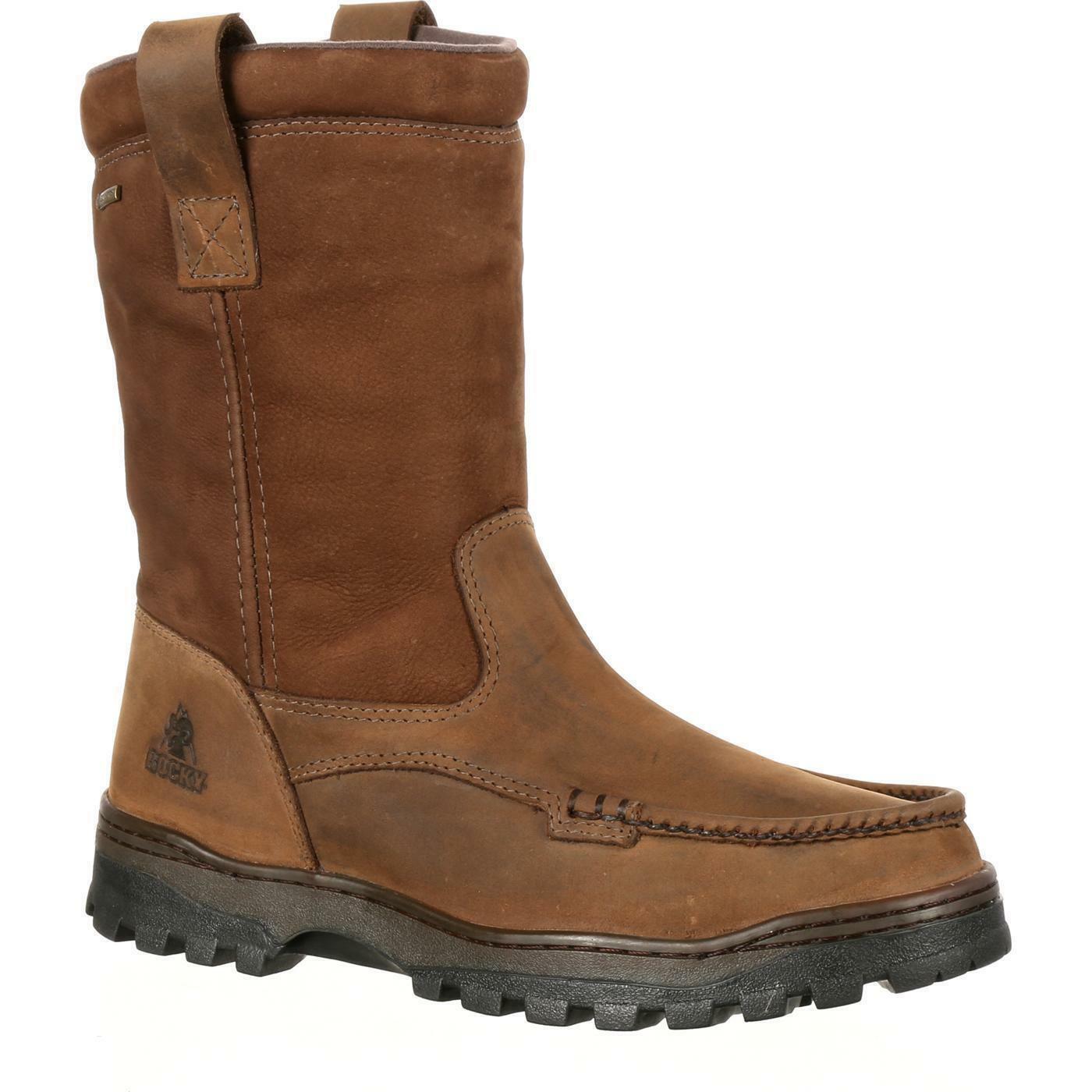 Rocky RKS0255 Outback GORE-TEX Waterproof Wellington Moc Toe Boot