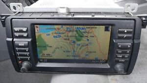 Genuine BMW E46 GPS BOARD MONITOR computer di navigazione satellitare Schermo TV 16:9