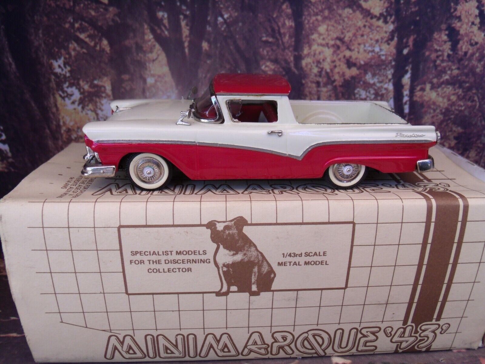 1 43 Minimarque (England) Ford  1957  Ranchero