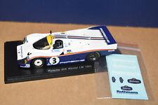 PORSCHE 956 #3 WINNERS 1983 24 HOURS OF LE MANS 1//18 MODEL CAR BY SPARK 18LM83