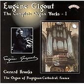 Gigout - Complete Organ Works, Vol 1, Gerard Brooks (Organ of Perpigna, Very Goo