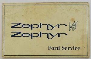 Ford-Zephyr-V6-unused-servicio-folleto-de-garantia-Ref-N-73466-466-impreso-1966