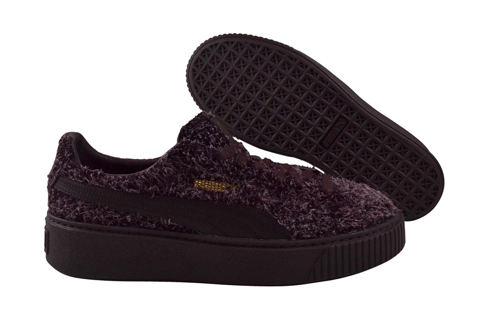 Puma suede Platform elemental winetasting cortos zapatos burdeos burdeos burdeos 362224 03  el estilo clásico