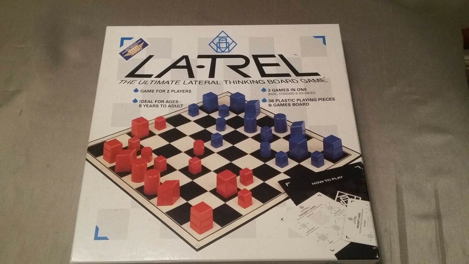 LATREL - The Ultimate Lateral Thinking Board Game by Millennium - CODEDUP