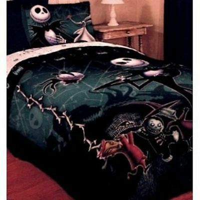 Original Nightmare Before Christmas Comforter bedding Jack Sally new