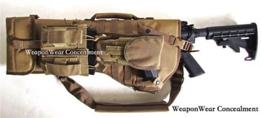 CaBesterillo rifle Case Carrier Holster y revista bolsa incluida Plus Regalo Gratis