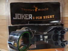 Trophy Ridge Joker 3 Pin Bow Sight