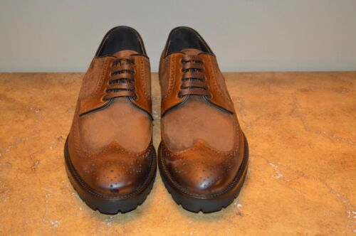 To Boot New York Tan Leather Brogue Wingtip Oxfords Size 11