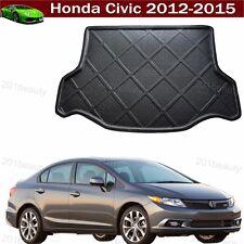 Honda Civic 2012-2015 Car Boot Pad Carpet Cargo Mat Trunk Liner Tray Floor Mat