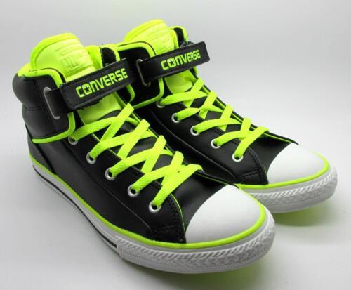 Ct Chaussures 641704c Loopback En Cuir Baskets Pc Noires Juniors Converse 51IHwH