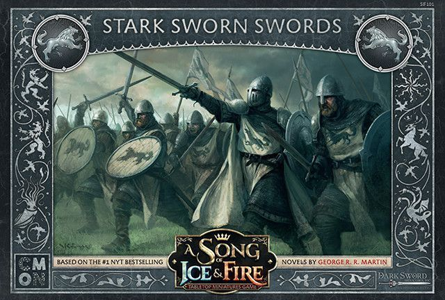 A Song Of Ice And Fuego Fuerte Sworn Swords (Inglés) Cool Mini Or Not Westeros