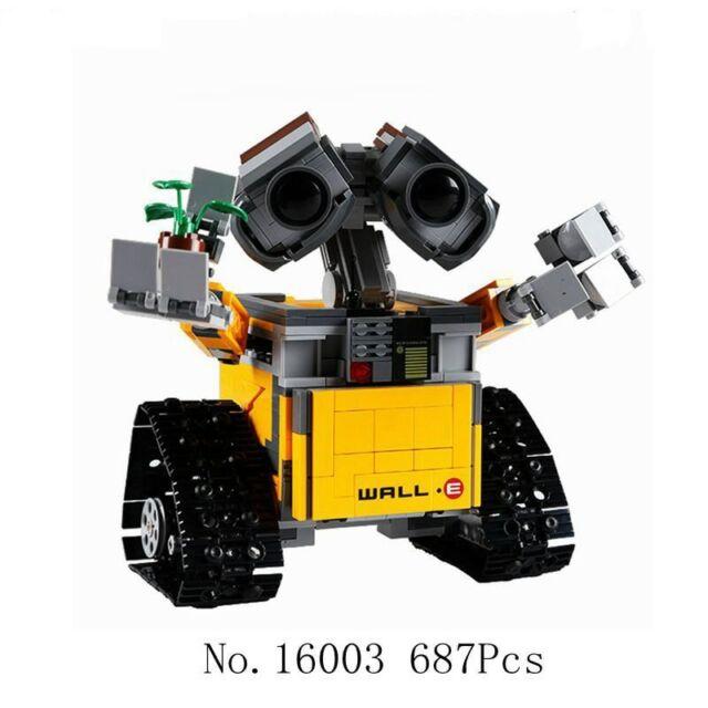 687 pcs Legoings Ideas Wall E Building Blocks Robot Model Building Kit Bricks