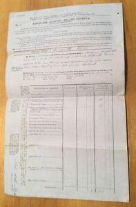 1866-Rodborough-Glos-William-Flight-Revenue-Document