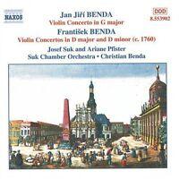 Christian Benda - Violin Concertos I [new Cd] on sale