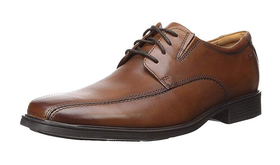 New - Clarks Tilden Walk Leather Men Oxford shoes Sz. 11.5