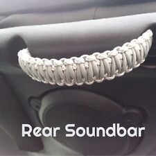 Paracord Grab Handles Sound-Bar or Head Rest Set Jeep Wrangle