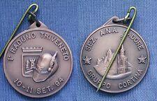 MEDAGLIA 1° RADUNO TRIVENETO SEZIONE A.N.A.CADORE GRUPPO CORTINA D'AMPEZZO 1992