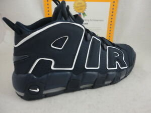 e9c6b7f268b Image is loading Nike-Air-More-Uptempo-039-96-Obsidian-White-