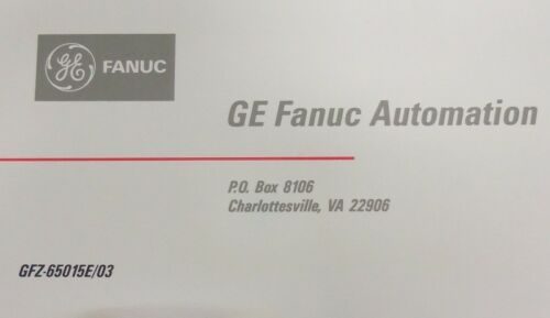 Material Handling FANUC AC SPINDLE SERVO UNIT S/P SERIES ...