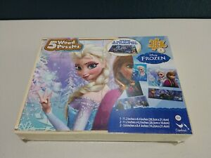 Frozen 5 Pack Wooden Puzzles package of 5