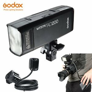 Godox-AD200-2-4-TTL-HSS-Two-Heads-Flash-with-EC200-1-85m-Remotely-Extender-Flash