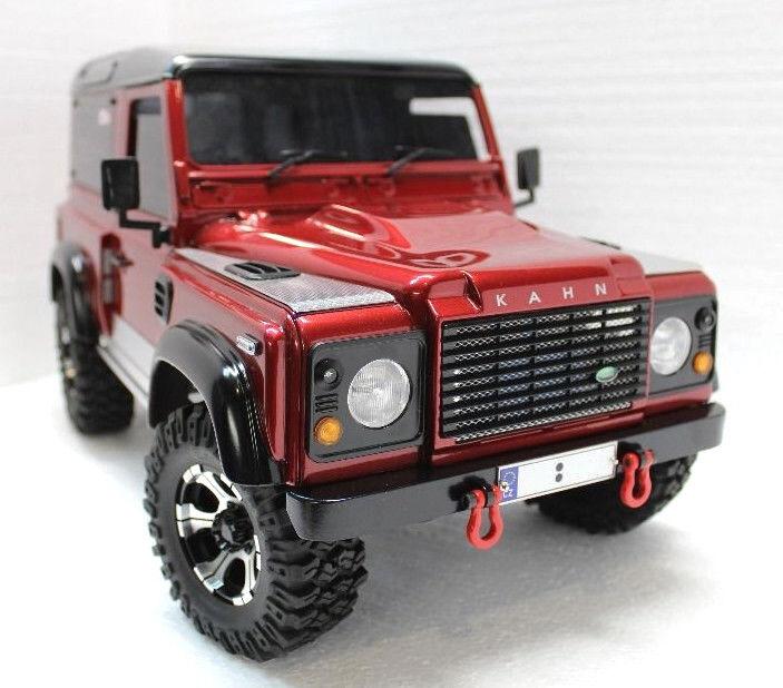 Land rover defender neue rc d90 kahn retro - stil - skala offroad - 1   10 rc4wd yota