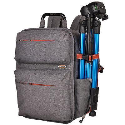 Camera Backpack DSLR SLR Rucksack Bag Photo Case Waterproof For Nikon Sony Canon