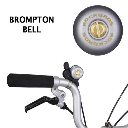 For BROMPTON Bell Steel Copper Custom Accessories Brompton GREY