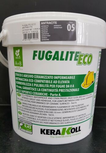 Fugalite Eco 3 kg Kera Koll anthrazit....fliesen verfugen