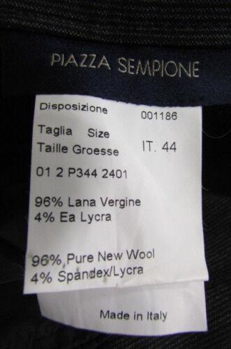 Antracite Grigio 10 Di Sempione Scuro Donna Pantaloni Piazza Gessato 44 Lana wxgnA6qS