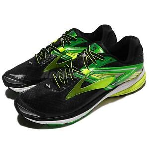be0f64dd9ab Brooks Ravenna 8 VIII Black Green Nightlife Men Running Shoes ...