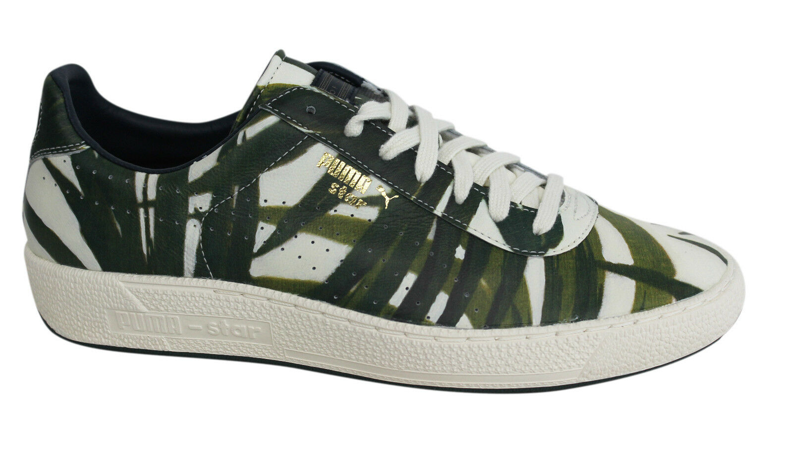 0a9b2685257 PUMA Star X House of Hackney HOH Mens Lace Up Leather Trainers ...